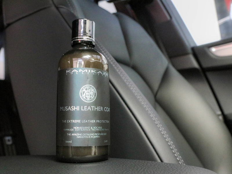 musashi leather protection